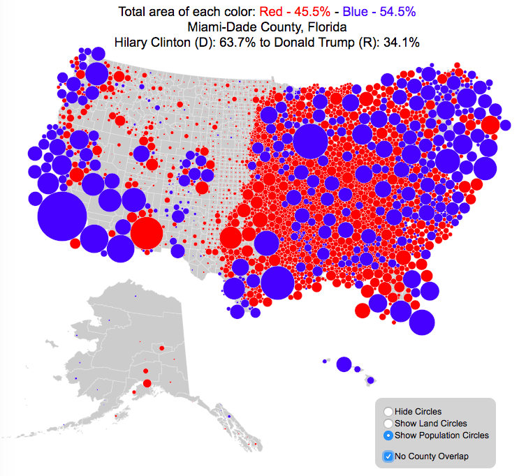 County Electoral Map