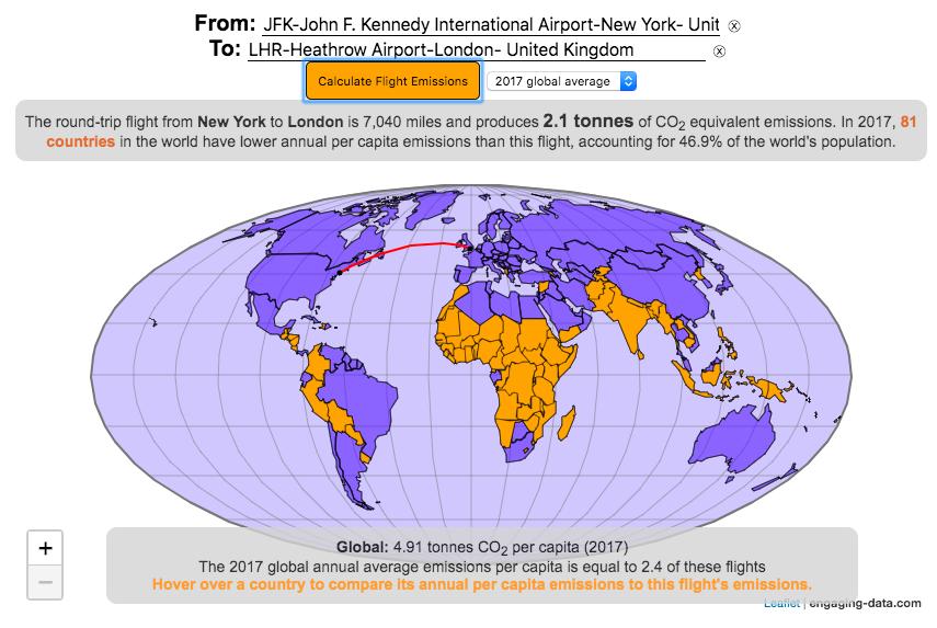Airplane Flight Emissions