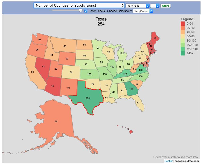 Assembling USA state-by-state