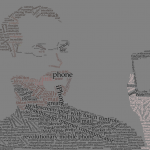 Steve Jobs iPhone introduction wordcloud