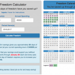 Financial Freedom Calculator (Multi-Period FIRE Visualization)