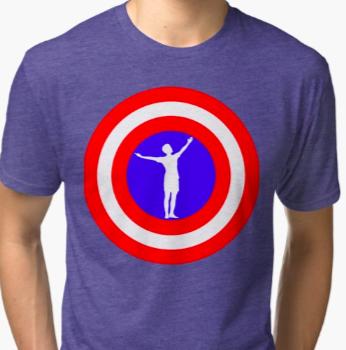 Megan Rapinoe Goal Pose T-shirt